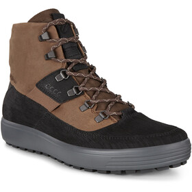 ECCO Soft 7 Tred Stivali Uomo, black/cocao brown/black
